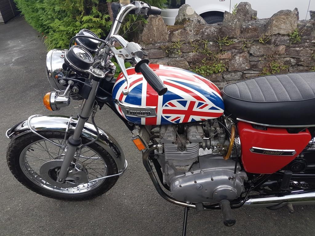 Sold Triumph Trident T150v The Brexit Bike Totnes Classic